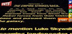 """#WTF: Dieser Regisseur hat die berühmten """"Star Wars""""-Rolltitel WIRKLICH erfunden!"""