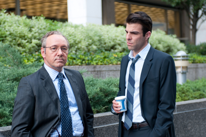 Bild-Link: Zachary Quinto in Margin Call